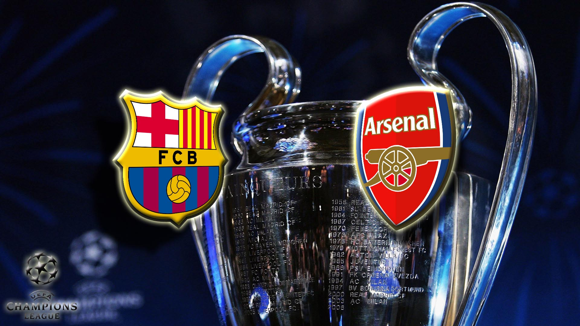 Прогноз на матч Барселона - Арcенал Лондон 16 марта 2016