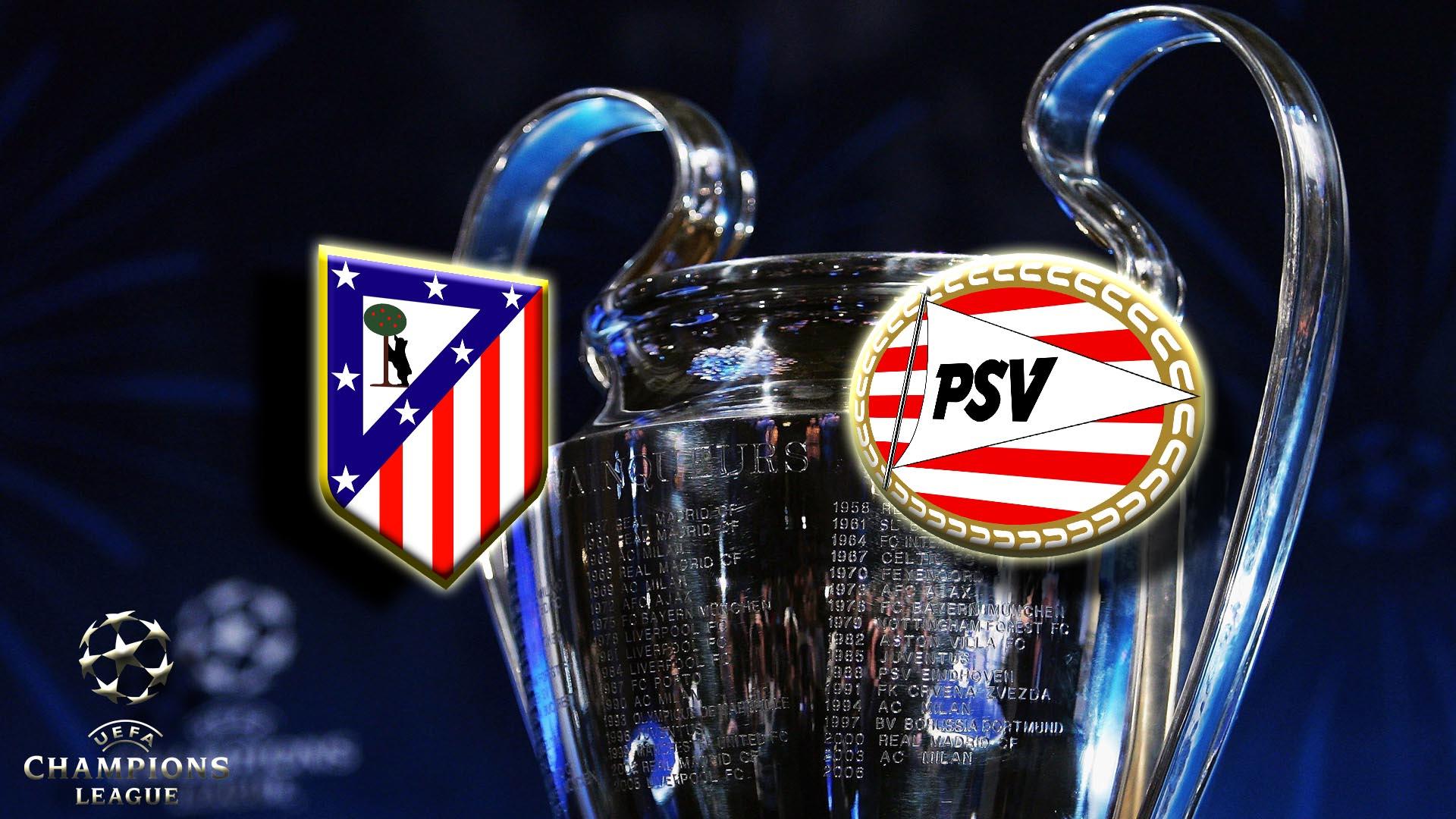 Прогноз на матч Атлетико Мадрид - ПСВ 15 марта 2016