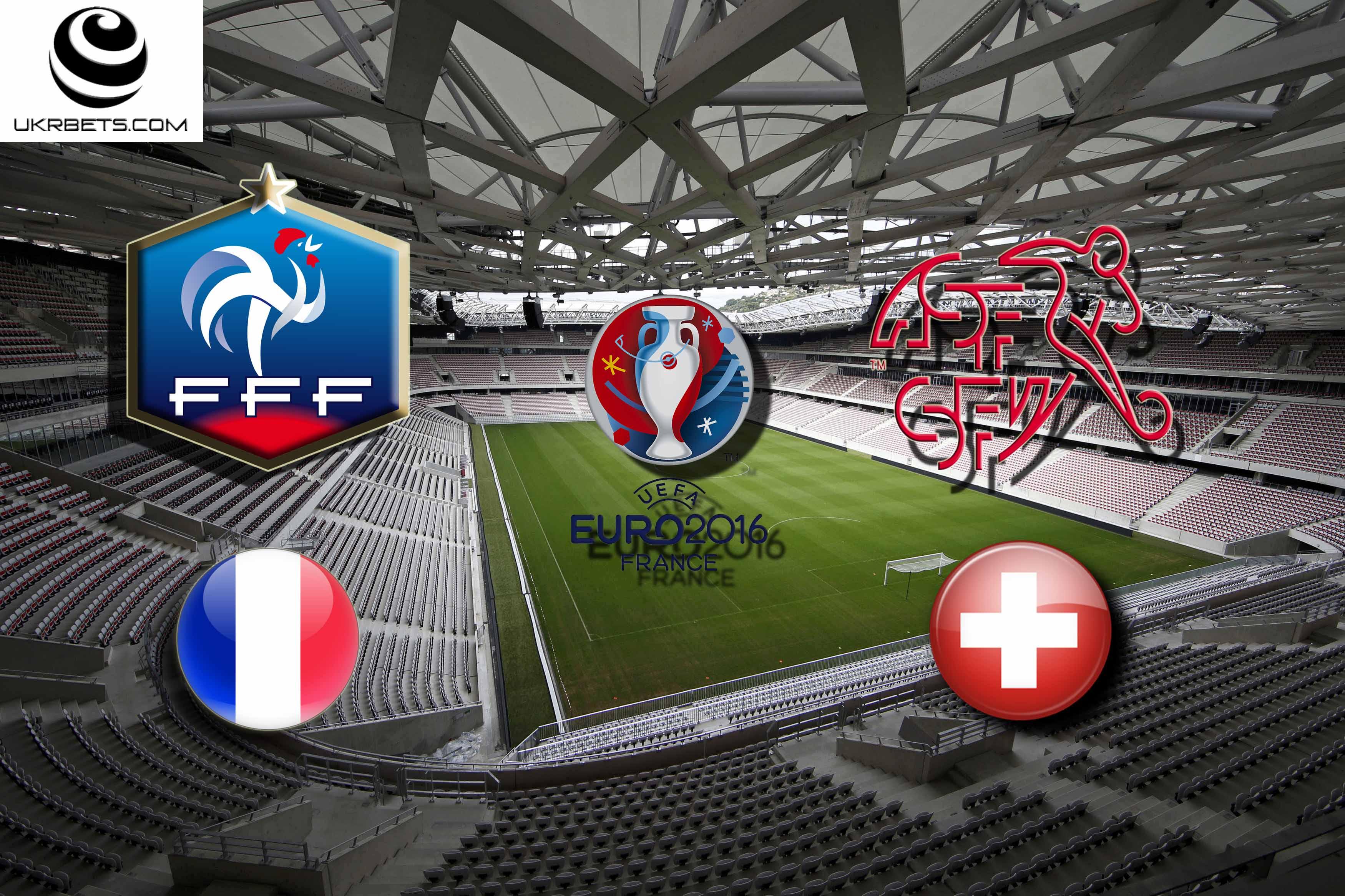 Швейцария - Франция: прогноз на матч Евро – 2016 19 июня