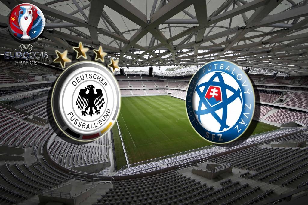 Германия - Словакия: Прогноз на матч Евро - 2016 25 июня