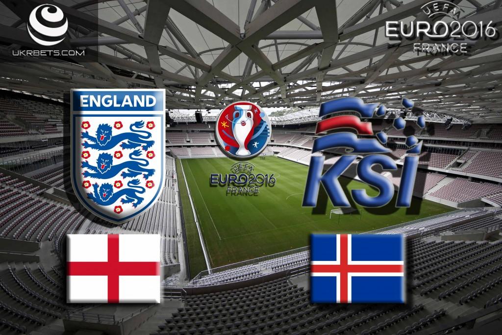 Англия - Исландия: Прогноз на матч Евро - 2016 27 июня