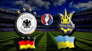 Прогноз на матч Германия - Украина Чемпионата Европы 2016