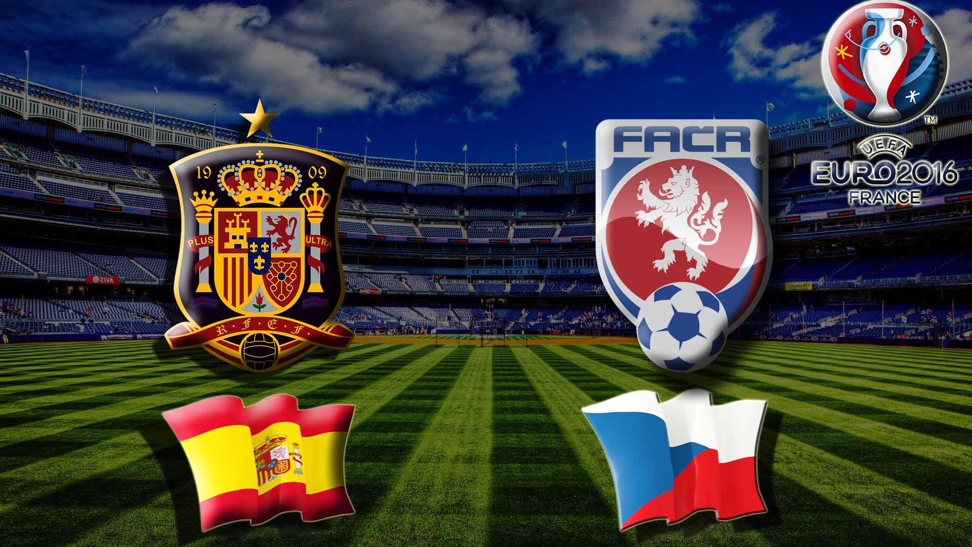 Прогноз на матч Испания - Чехия Чемпионата Европы 2016
