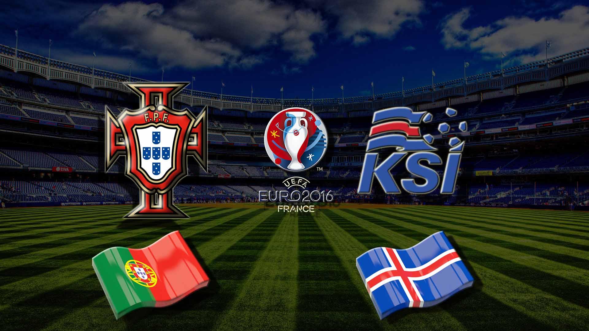 Прогноз на матч Португалия - Исландия Чемпионата Европы 2016