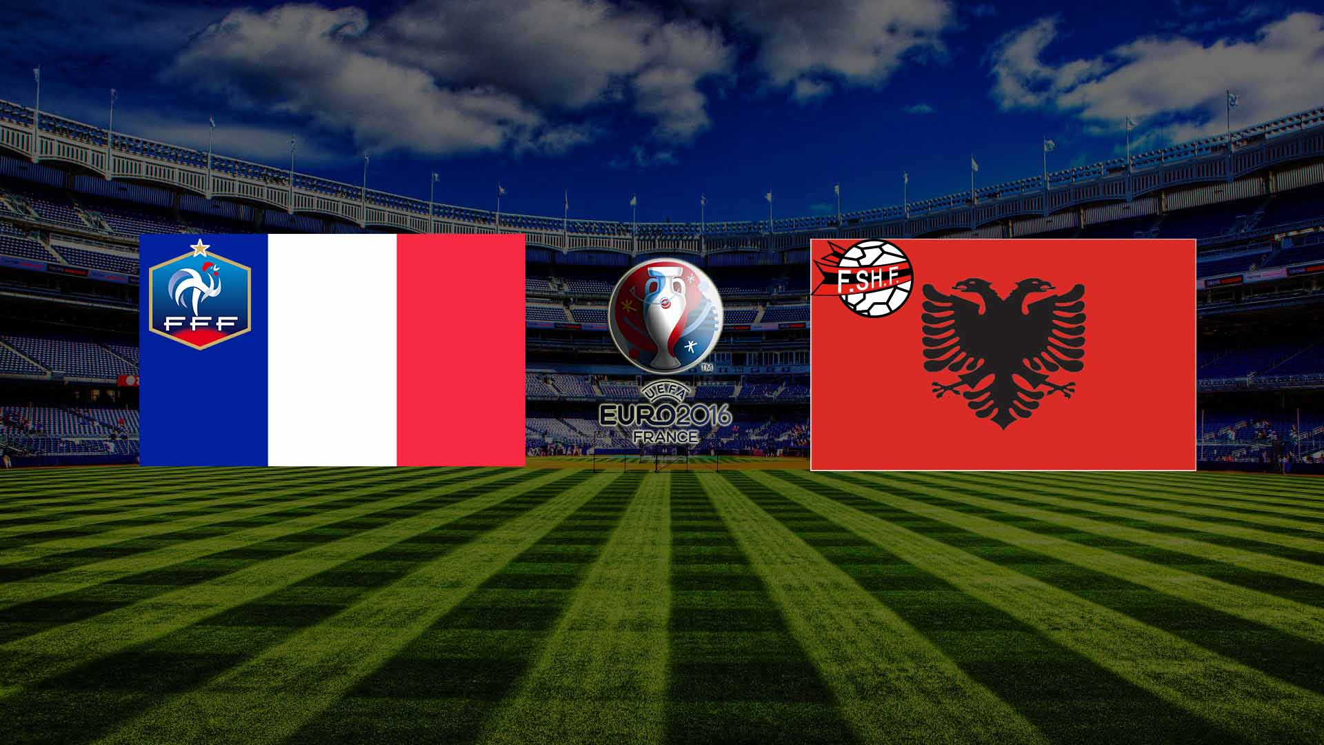 Прогноз на матч Франция - Албания Чемпионата Европы 2016, 15 июня