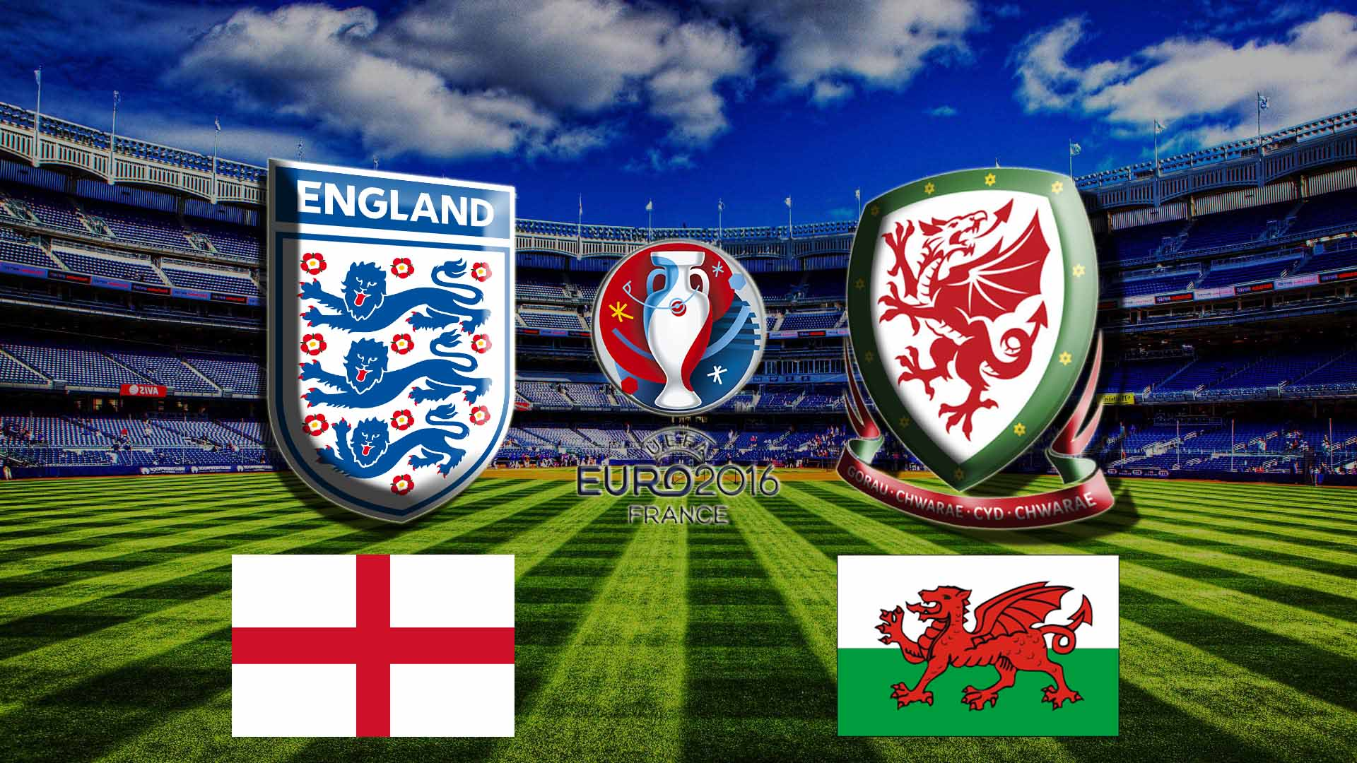 Прогноз на матч Англия - Уэльс Чемпионата Европы 16 июня 2016