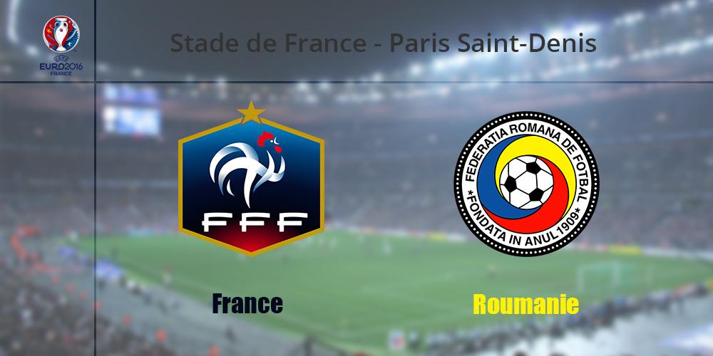 Прогноз на матч Франция - Румыния. Чемпионат Европы. Евро - 2016