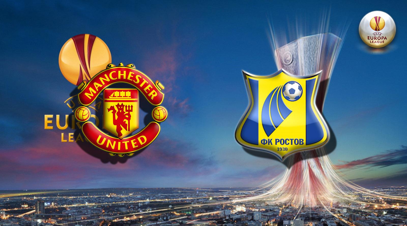 Прогноз на матч Манчестер Юнайтед - Ростов 16 марта 2017