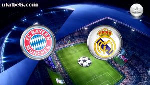 Прогноз на матч Бавария Мюнхен - Реал Мадрид 12 апреля 2017