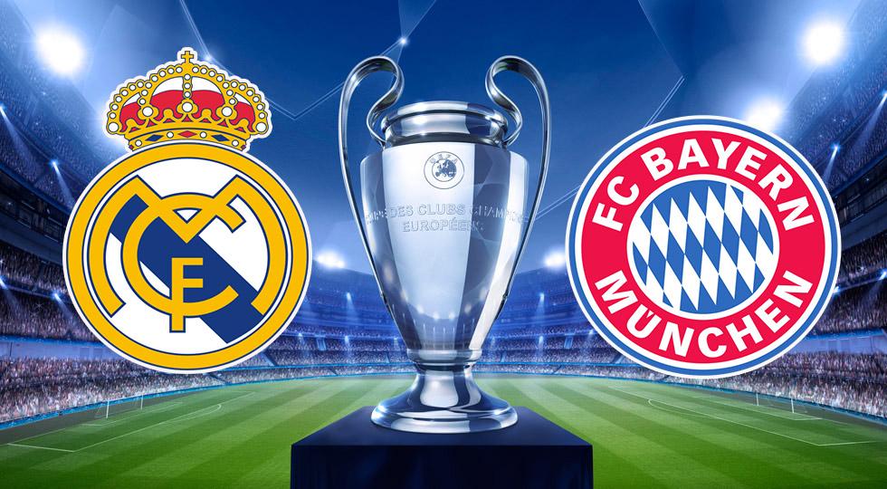 Прогноз на матч Реал Мадрид-Бавария Мюнхен 18 апреля 2017