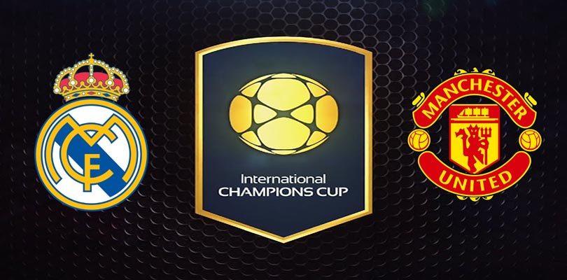 Прогноз на матч Реал Мадрид - Манчестер Юнайтед 8 августа 2017