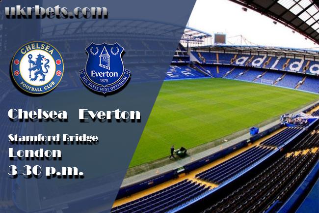 Прогноз на матч Челси Лондон - Эвертон 27 августа 2017