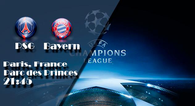Прогноз на матч ПСЖ - Бавария Мюнхен 27 сентября 2017