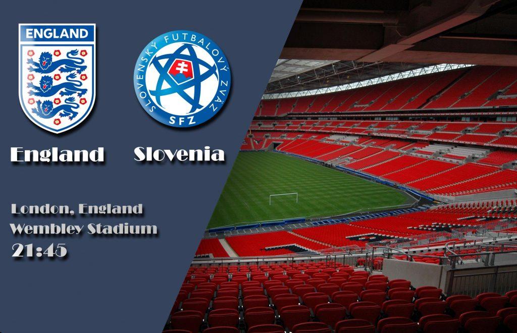 Прогноз на матч Англия - Словения 5 октября 2017