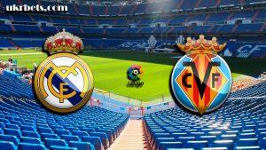 Прогноз на матч Чемпионата Испании Реал Мадрид - Вильярреал 13 января 2018
