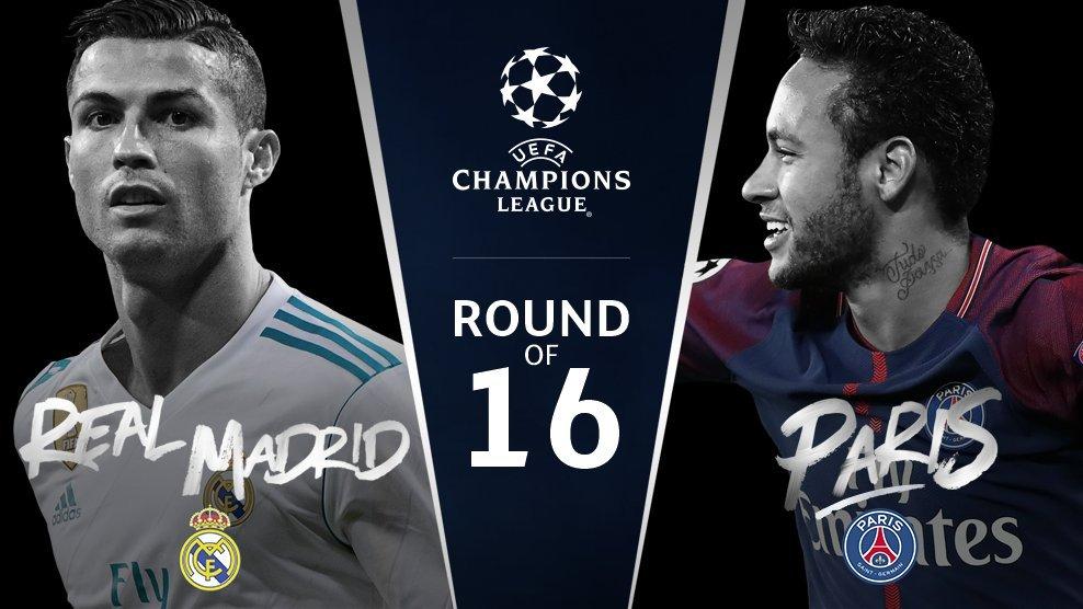Прогноз на матч Лиги Чемпионов Реал Мадрид - ПСЖ 14 февраля 2018