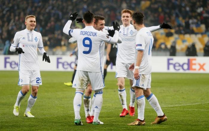 Олимпиакос — Динамо Киев: прогноз на матч Лиги Европы 14 февраля 2019